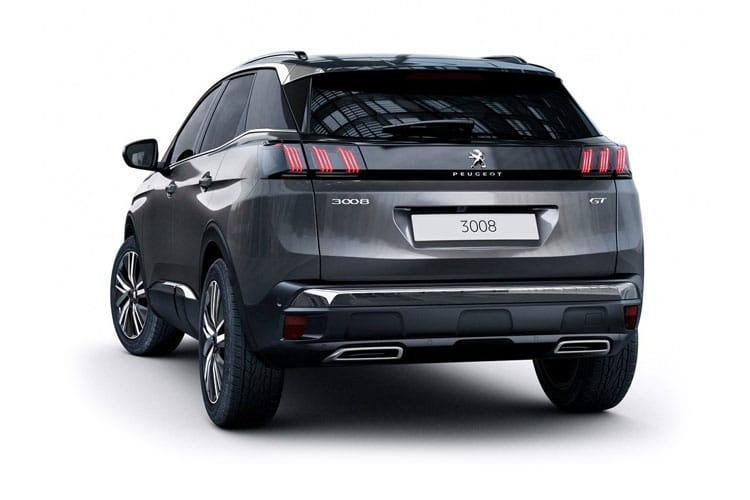 Peugeot 3008 SUV 1.5 BlueHDi 130PS Active 5Dr EAT8 [Start Stop] back view