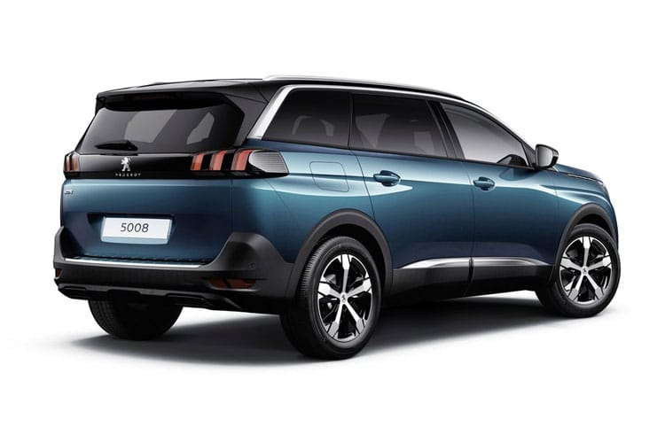 Peugeot 5008 SUV 1.5 BlueHDi 130PS Active 5Dr Manual [Start Stop] back view