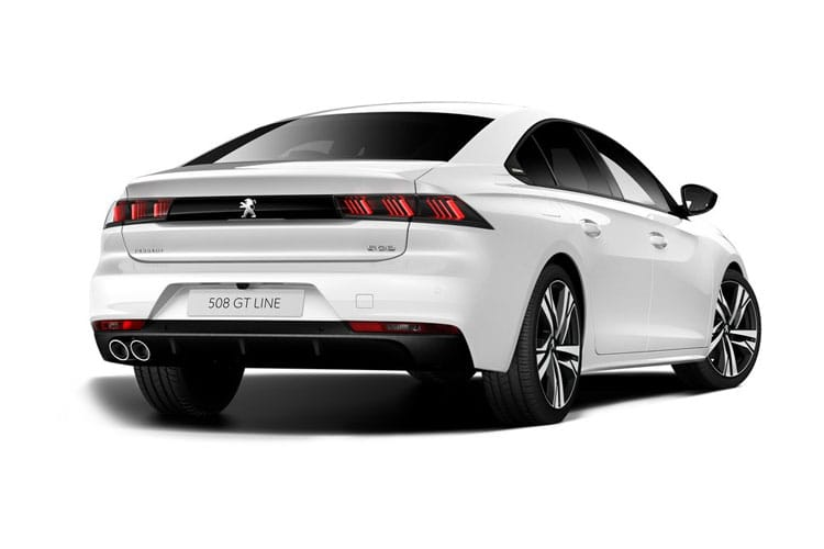 Peugeot 508 Fastback 1.5 BlueHDi 130PS GT Line 5Dr Manual [Start Stop] back view