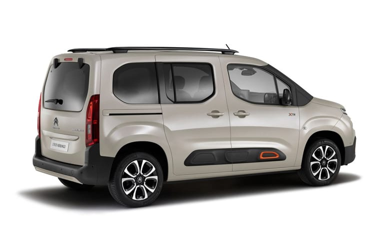 Citroen Berlingo M MPV 1.5 BlueHDi 130PS Flair 5Dr EAT8 [Start Stop] back view
