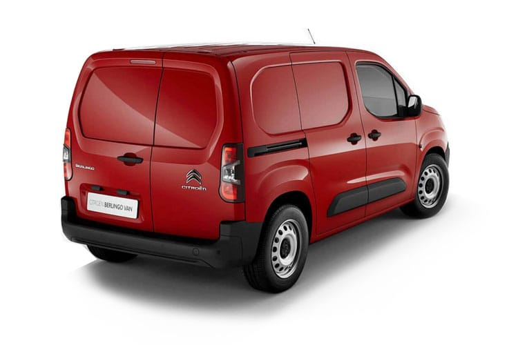 Citroen Berlingo XL 850Kg 1.5 BlueHDi FWD 130PS Enterprise Crew Van EAT8 [Start Stop] back view