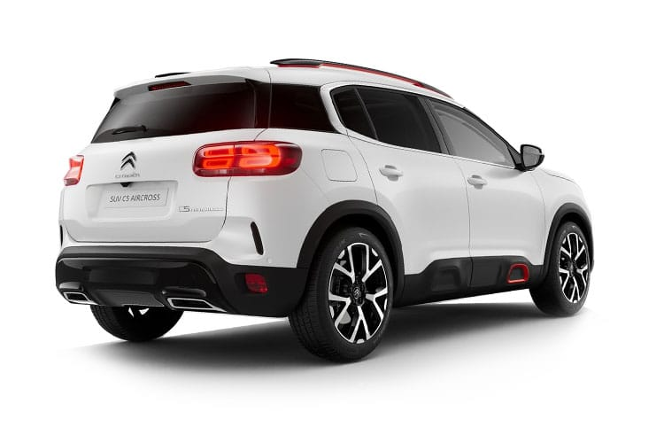 Citroen C5 Aircross SUV 1.5 BlueHDi 130PS Sense 5Dr Manual [Start Stop] back view