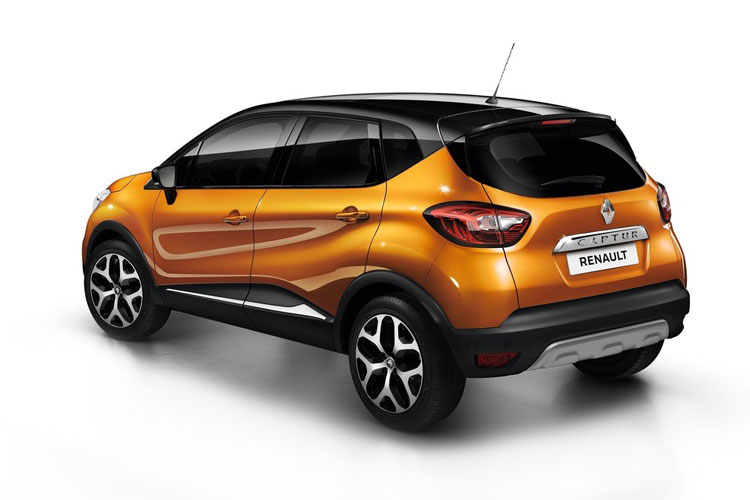 Renault Captur SUV 1.3 TCe 140PS Iconic 5Dr EDC [Start Stop] back view