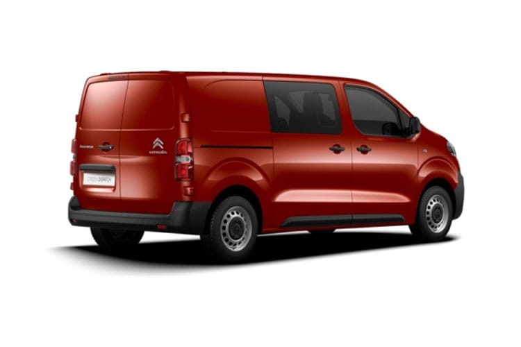 Citroen Dispatch M 1000Kg 2.0 BlueHDi FWD 120PS Enterprise Crew Van EAT8 [Start Stop] back view