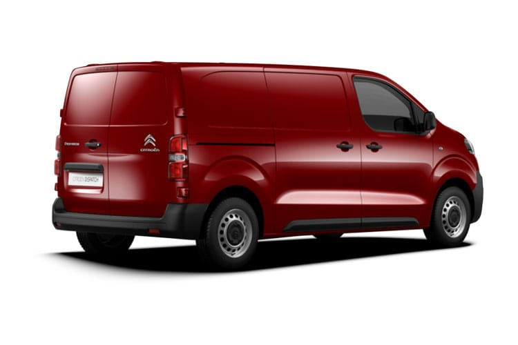 Citroen Dispatch M 1400Kg 2.0 BlueHDi FWD 120PS Enterprise Van Manual [Start Stop] back view