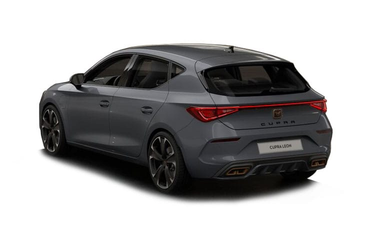 CUPRA Leon Hatch 5Dr 1.4 eHybrid PHEV 12.8kWh 245PS VZ3 5Dr DSG [Start Stop] back view
