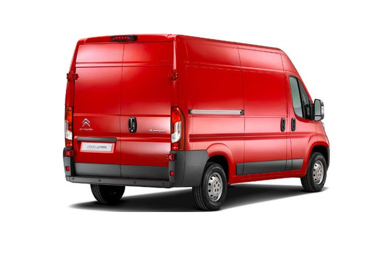 Citroen Relay 35 Heavy L4 2.2 BlueHDi FWD 140PS Driver Van High Roof Manual [Start Stop] back view