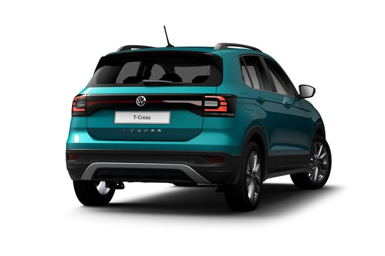 Volkswagen T-Cross SUV 1.0 TSI 95PS S 5Dr Manual [Start Stop] back view