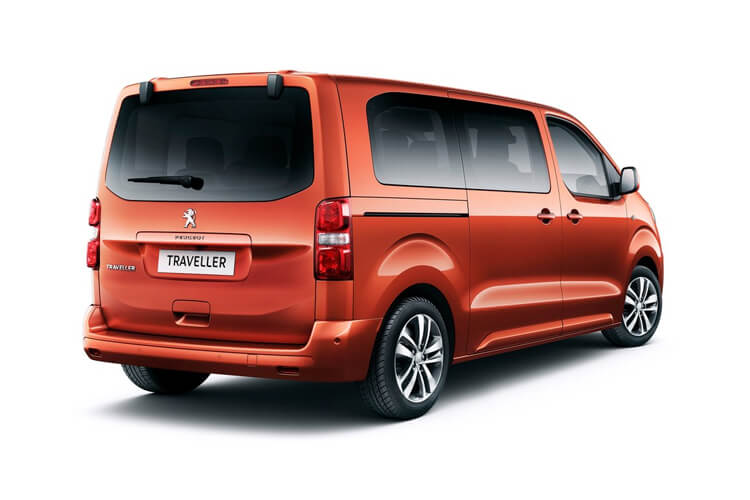 Peugeot Traveller Standard 5Dr 2.0 BlueHDi FWD 150PS Allure MPV Manual [Start Stop] [8Seat] back view