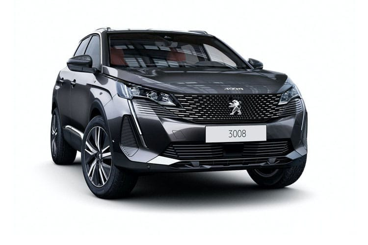Peugeot 3008 SUV 1.5 BlueHDi 130PS Active 5Dr EAT8 [Start Stop] front view