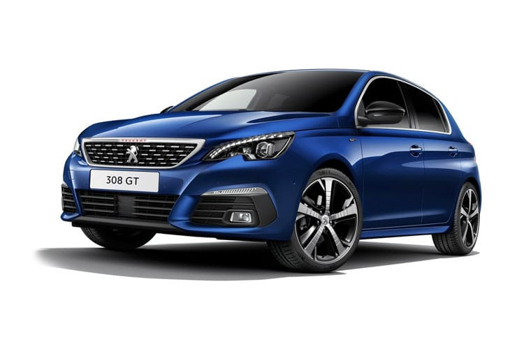 Peugeot 308 Hatch 5Dr 1.5 BlueHDi 130PS Active Premium 5Dr Manual [Start Stop] front view