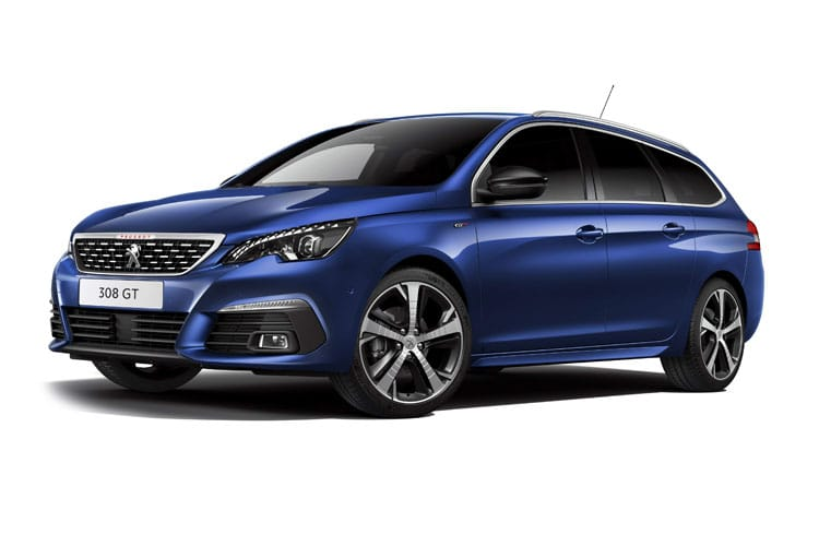 Peugeot 308 SW 5Dr 1.2 PureTech 130PS Active 5Dr EAT8 [Start Stop] front view