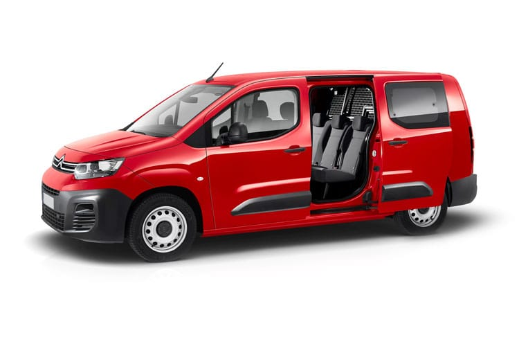 Citroen Berlingo XL 850Kg 1.5 BlueHDi FWD 130PS Enterprise Crew Van EAT8 [Start Stop] front view