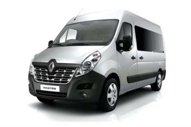 Renault Master SWB 33 FWD 2.3 dCi FWD 130PS Business Window Van Medium Roof Manual front view