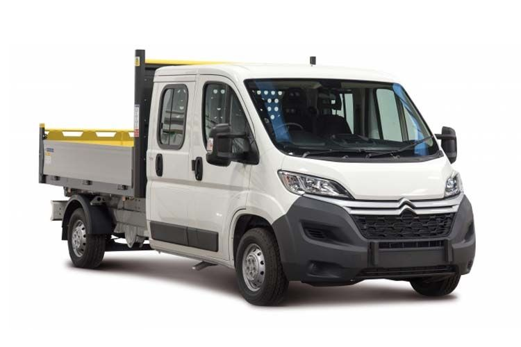 Citroen Relay 35 L3 2.2 BlueHDi FWD 140PS Ready to Run Plus Dropside Double Cab Manual [Start Stop] front view