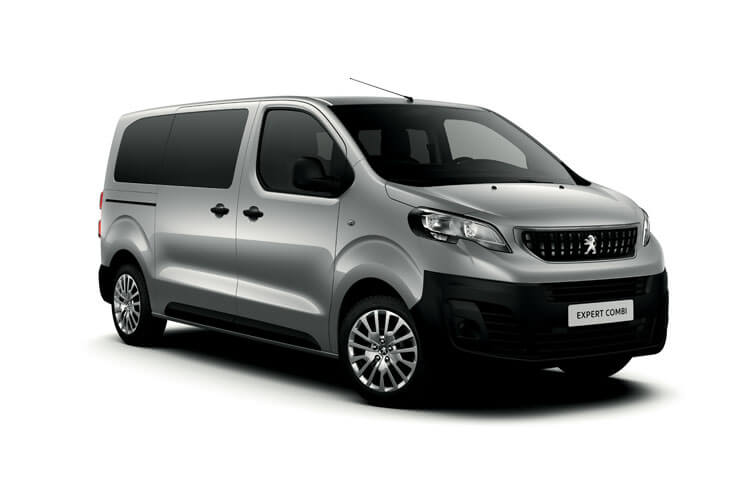 Peugeot Expert Combi Compact M1 1.5 BlueHDi FWD 100PS  Combi Manual [Start Stop] [5Seat] front view
