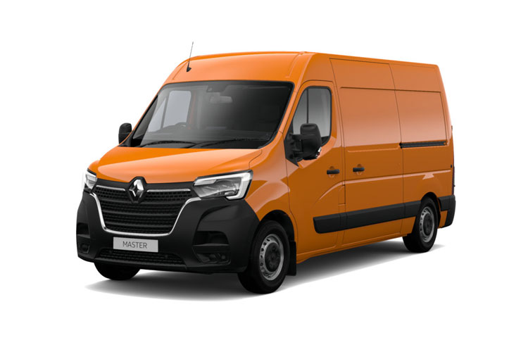 Renault Master LWBL 35 RWD 2.3 dCi RWD 130PS Business Van High Roof Manual front view