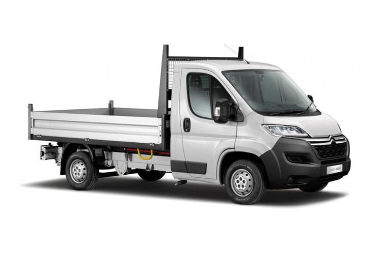 Citroen Relay 35 L3 2.2 BlueHDi FWD 165PS Ready to Run Plus Tipper Double Cab Manual [Start Stop] front view