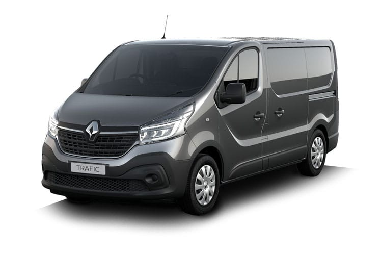 Renault Trafic 30 LWB 2.0 dCi ENERGY FWD 170PS Black Edition Van EDC [Start Stop] front view