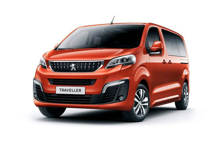 Peugeot Traveller Standard 5Dr 2.0 BlueHDi FWD 150PS Allure MPV Manual [Start Stop] [8Seat] front view