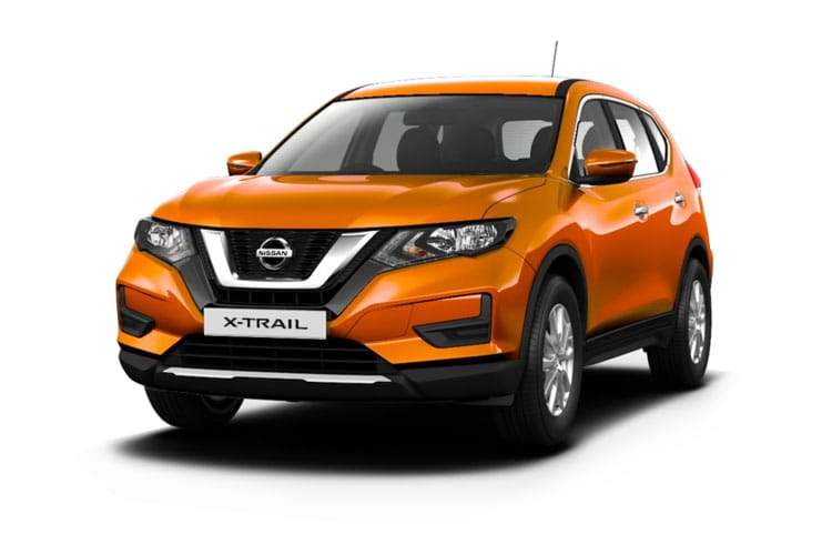 Nissan X-Trail SUV FWD 1.7 dCi 150PS Visia 5Dr Manual [Start Stop] [5Seat Smart Vision] front view