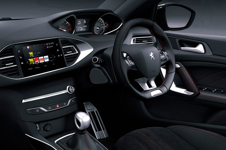 Peugeot 308 SW 5Dr 1.2 PureTech 130PS Active 5Dr EAT8 [Start Stop] inside view