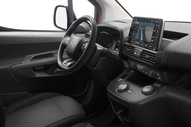 Citroen Berlingo XL 950Kg 1.5 BlueHDi FWD 100PS Enterprise Van Manual inside view