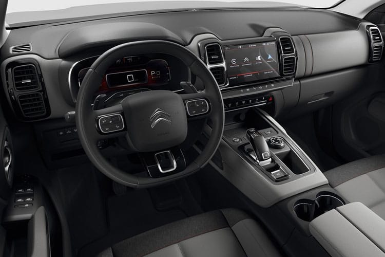 Citroen C5 Aircross SUV 1.5 BlueHDi 130PS Sense 5Dr Manual [Start Stop] inside view