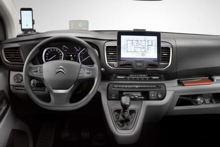 Citroen Dispatch M 1000Kg 1.5 BlueHDi FWD 100PS Enterprise Van Manual [Start Stop] inside view