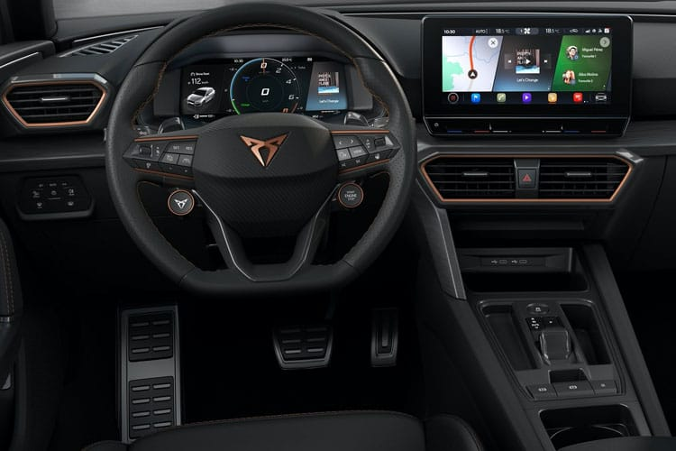 CUPRA Leon Hatch 5Dr 1.4 eHybrid PHEV 12.8kWh 245PS VZ3 5Dr DSG [Start Stop] inside view