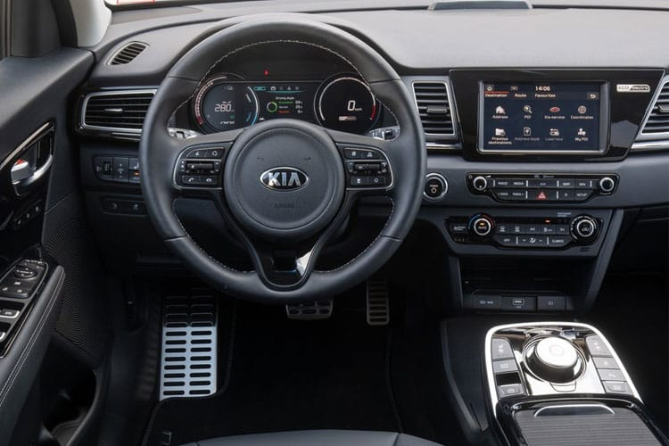 Kia Niro SUV 5Dr 1.6 GDi PHEV 8.9kWh 139PS 2 5Dr DCT [Start Stop] inside view