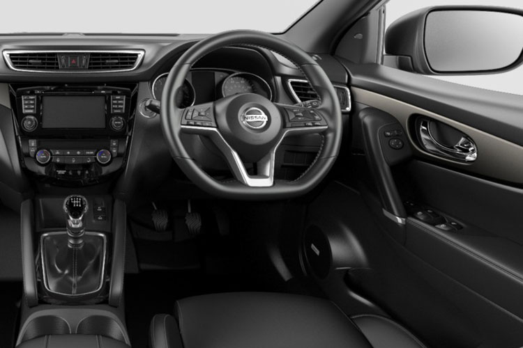 Nissan Qashqai SUV 2wd 1.7 dCi 150PS Tekna 5Dr Manual [Start Stop] inside view