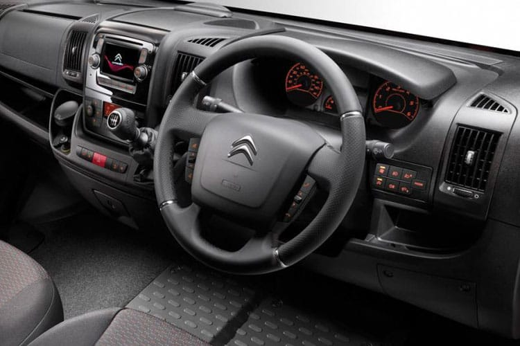 Citroen Relay 35 L3 2.2 BlueHDi FWD 140PS Ready to Run Enterprise Crew Van High Roof Manual [Start Stop] inside view