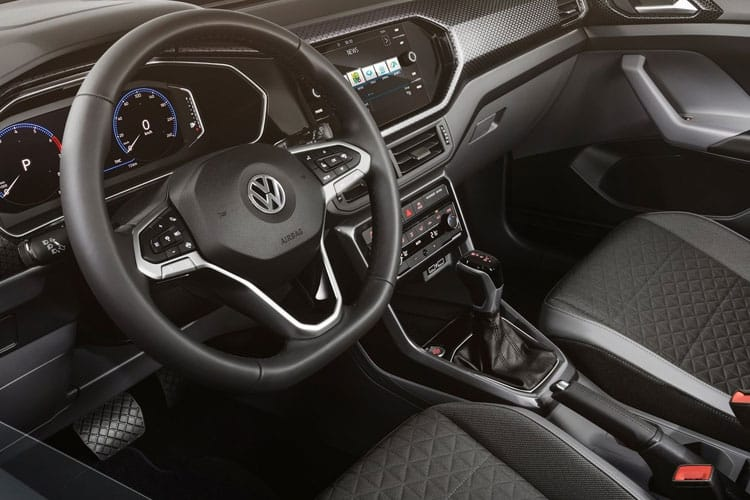 Volkswagen T-Cross SUV 1.0 TSI 95PS S 5Dr Manual [Start Stop] inside view