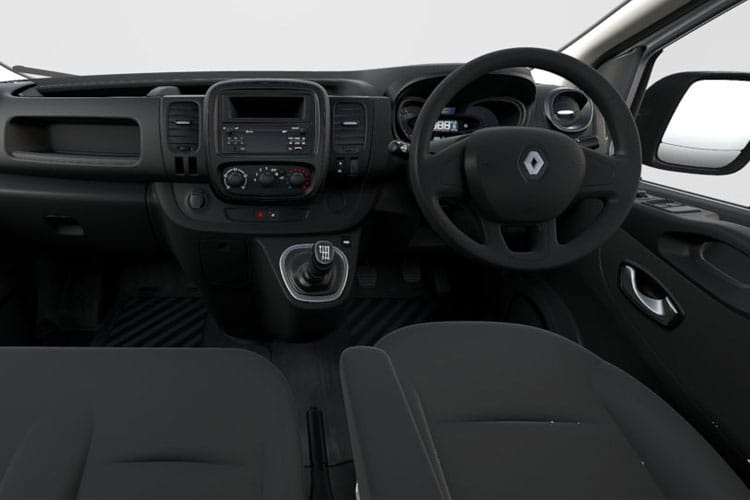 Renault Trafic 30 LWB 2.0 dCi ENERGY FWD 170PS Black Edition Van EDC [Start Stop] inside view
